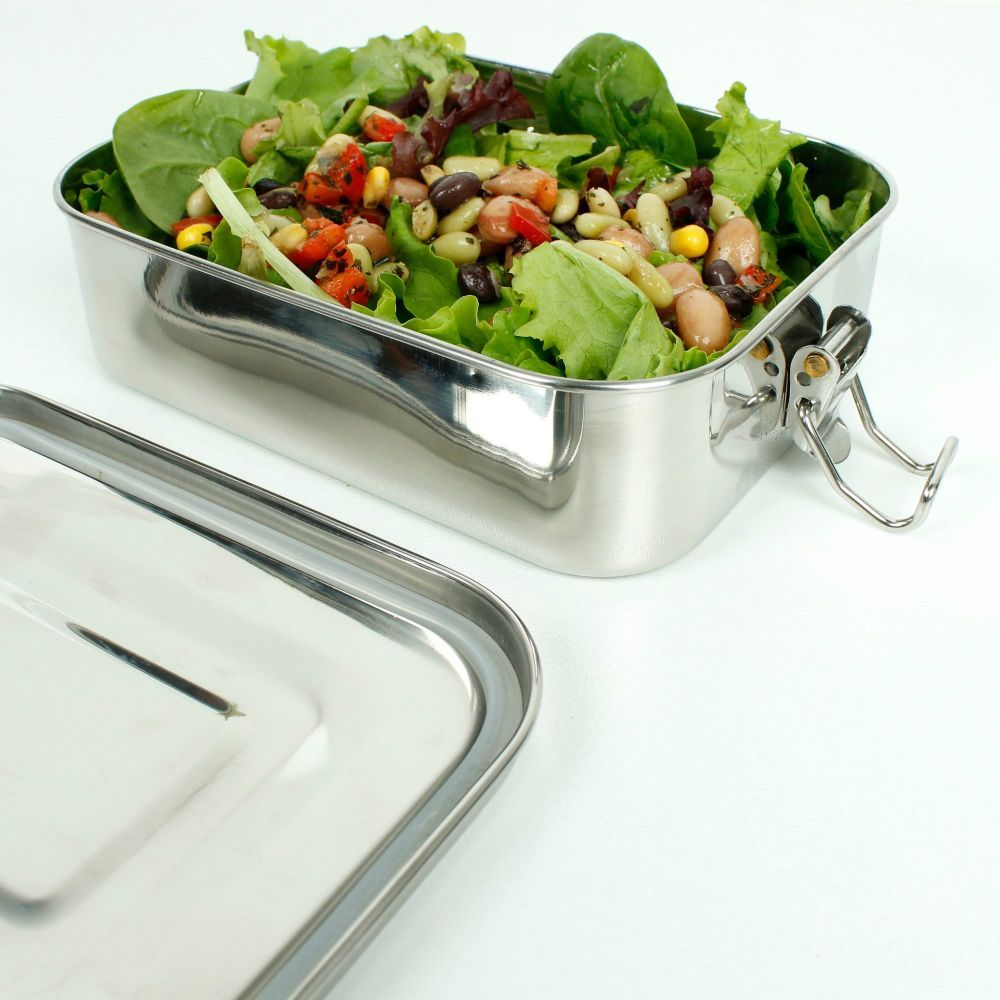 <!-- 003 --> STAINLESS STEEL LUNCH TIN