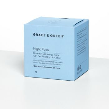 Night Pads - Ultra Thin with WIngs (10)