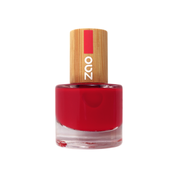 Zao Nail Polish - Classic Red