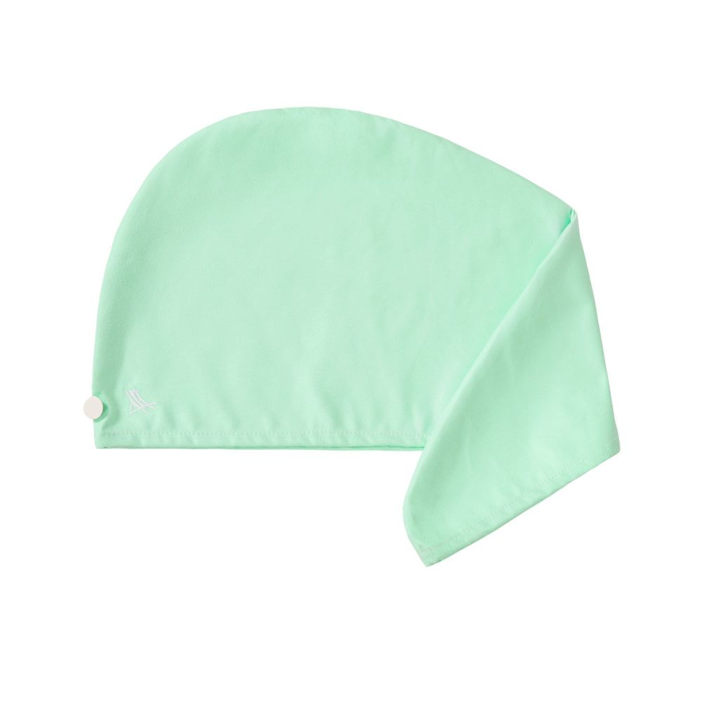 Hair Wrap - Plain Green