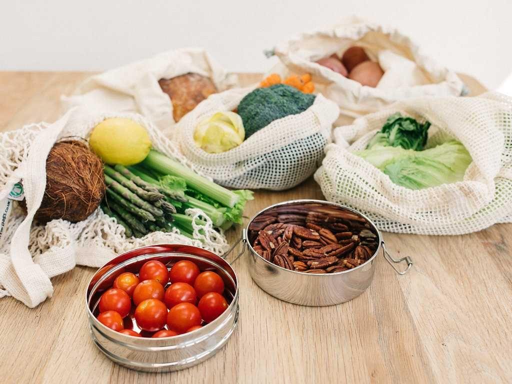Organic Cotton Produce Bags UK - Zero Waste Living