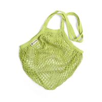 Turtle String Bag Lime Long Handled