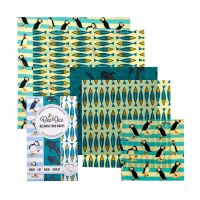 Beebee Wrap Family Pack of Five - Ocean