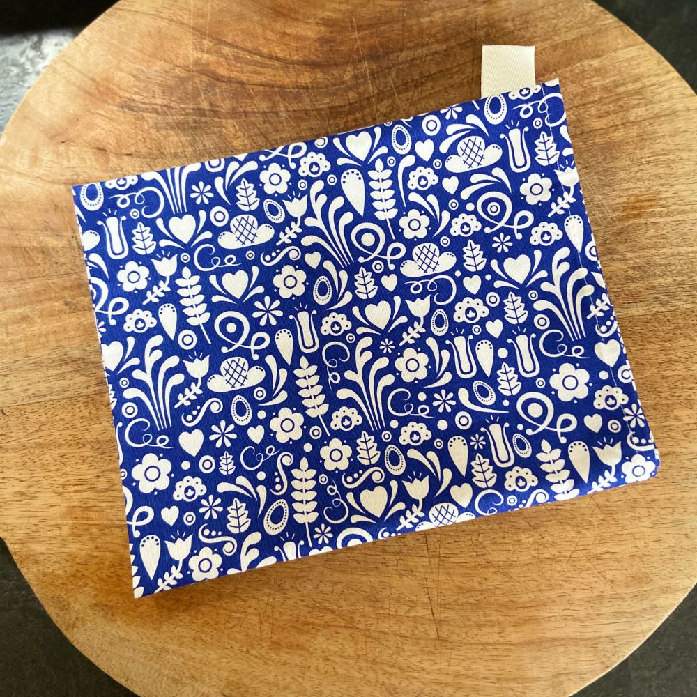 Tea Towel - Blue Dala