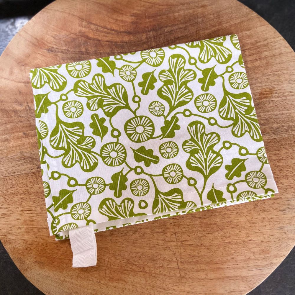 Tea Towel - Green Oak