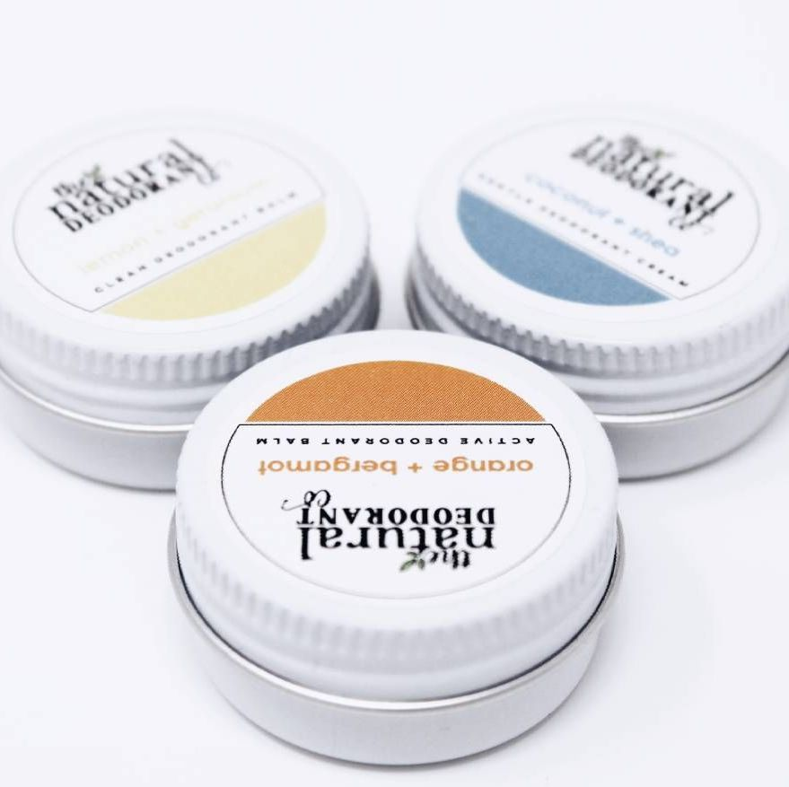 Natural Deodorant Taster Mini Tins