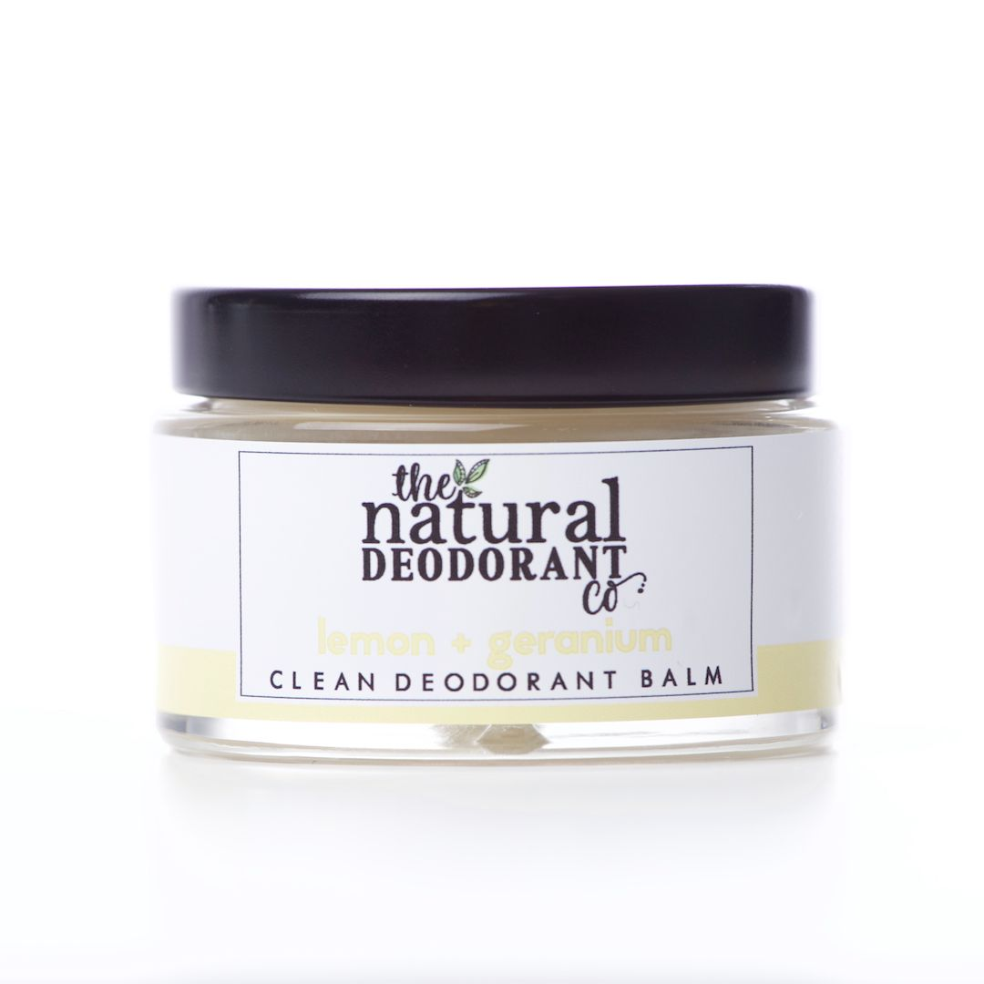Natural Deodorant Clean Lemon & Geranium 55g