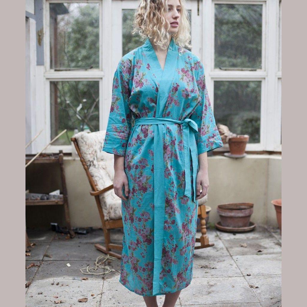 Kimono Dressing Gown UK