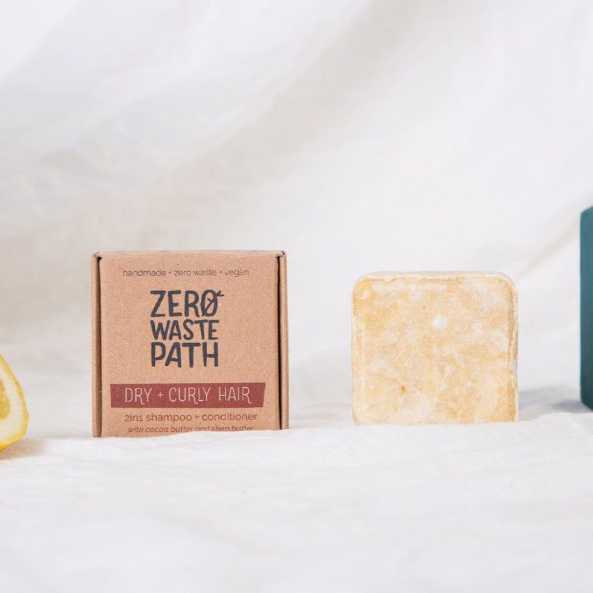 Solid Shampoo & Conditioner - Dry & Curly Hair