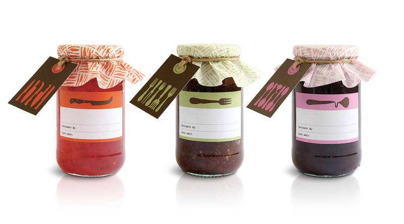 Mac & Ninny Jam Jar Covers