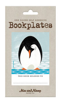 Bookplate Penguin