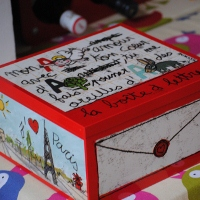 100drine My Letter Tin by Sentou