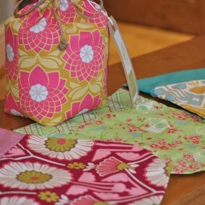 Handmade fabric doorstops