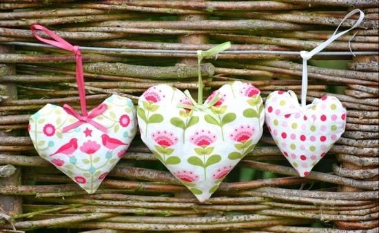 Handmade Hanging Lavender Trio