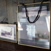 Kiki Hanging Glass Frame by nkuku