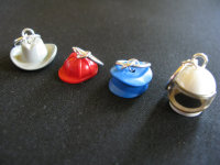 Lego Hat Stitch Markers