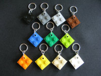Lego Tile Stitch Markers