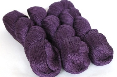 Scrumptious 4ply Purple