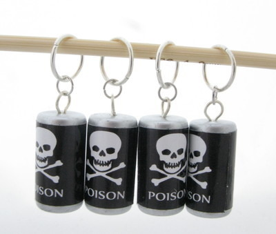 Poison Stitch Markers