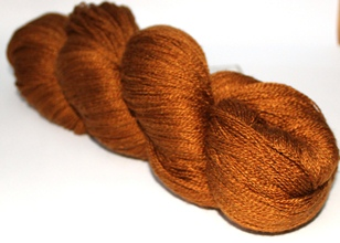 Scrumptious Ysolda Lace Treacle Toffee