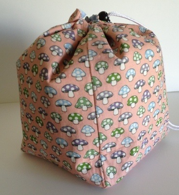 Large Project Bag - Mushrooms