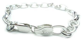 armband ovaal - bracelet oval (diameter: 8 mm.)