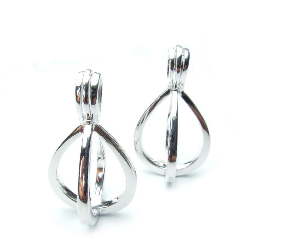 hangers groot - pendentifs grands - pendants big (x2)