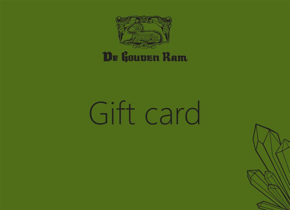 GIFT CARD - 礼券 - Tarjeta regalo