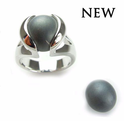 Hematiet (mat) - Hematite (matt) (10mm.)