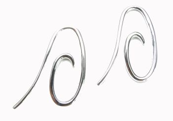 universele oorhaken - boucles d. - earrings hooks (1 paar/paire) (2 x 1 cm.)