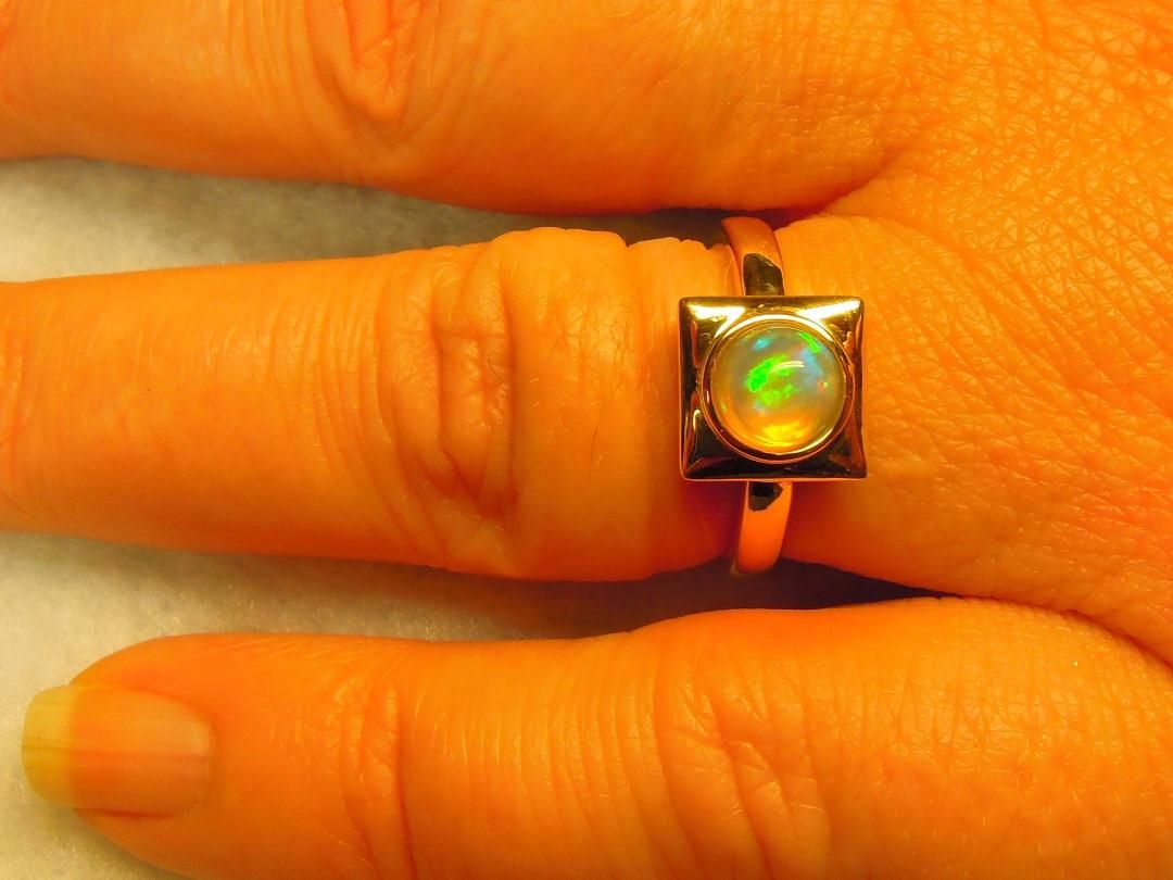 Ring Opaal 18kt.