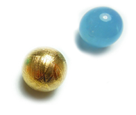 wisselparels - boules - beads (10mm.)
