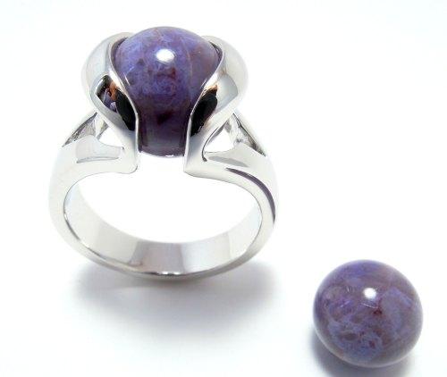 Lavendel Jade - Jade lavende - Jade Lavender (10mm.)