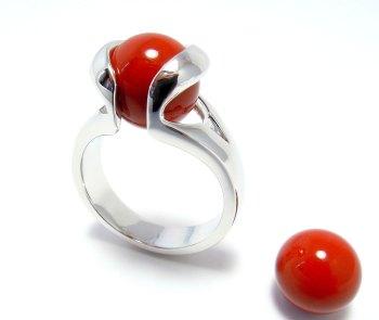 Rode Jaspis - Jaspe rouge - Red Jasper (10mm.)