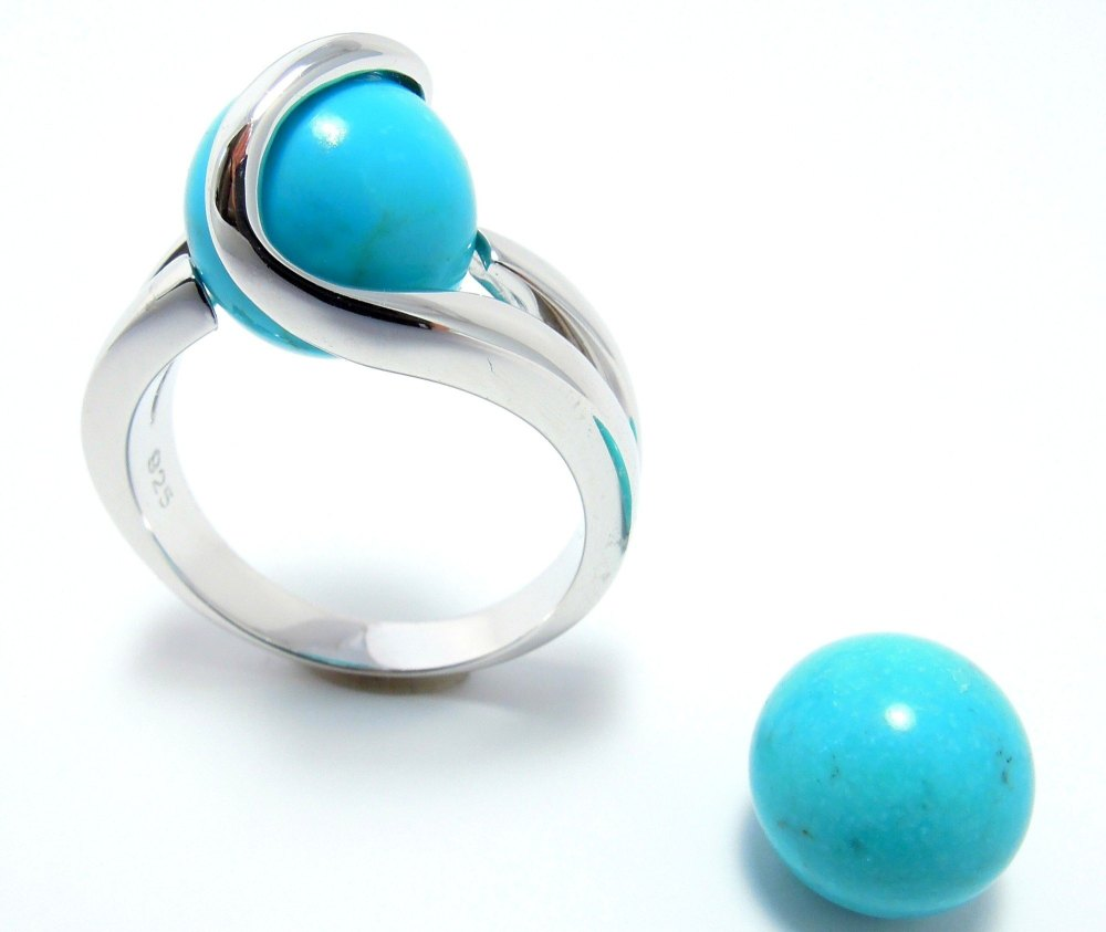 Turkoois - Turquoise (10mm.)