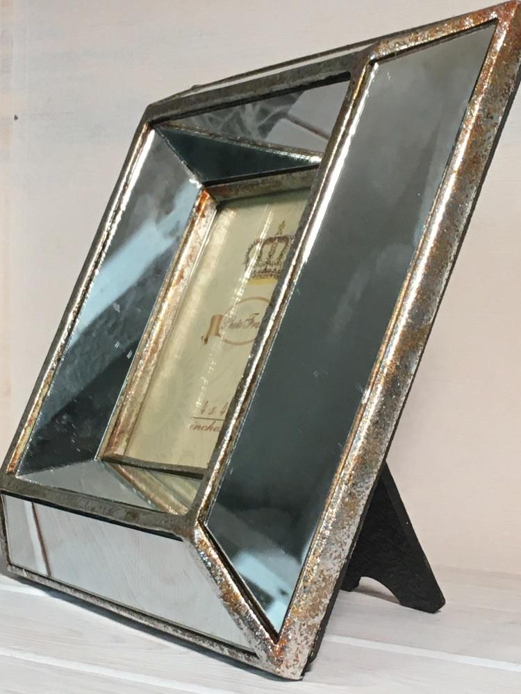 Vintage Mirrored Frame