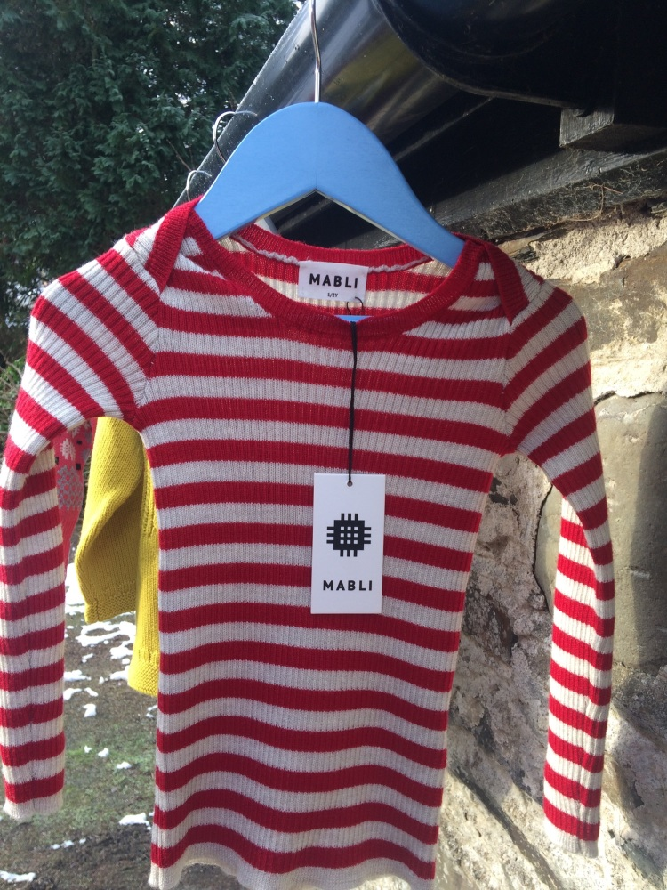 siwmper MABLI jumper RED/COCH