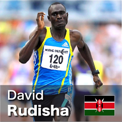 Diamond League winner 2010-2011 - David Rudisha