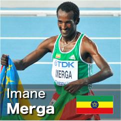 Diamond League winner 2010-2011 - Imane Merga