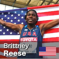 Diamond League winner 2010-2011 - Brittney Reese