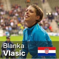 Diamond League winner 2010-2011 - Blanka Vlasic