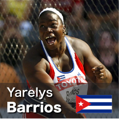 Diamond League winner 2010-2011 - Yarelys Barrios