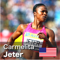 Diamond League winner 2010-2011 - Carmelita Jeter