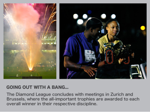 Diamond League celebrations at Brussels