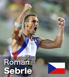 Roman Sebrle - Decathlon World Record holder