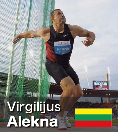 Virgilijus Alekna - World No 2 all-time Discus thrower