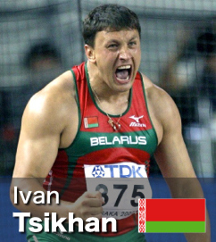 Ivan Tsikhan - World No 2 all-time in Hammer rankings