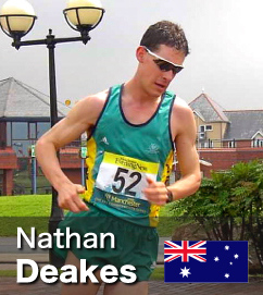Nathan Deakes - in the Worlds Top 6 at both the 20k and 50k Walks