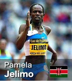 Pamela Jelimo - 3rd fastest 800m runner in history