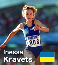 Inessa Kravets - Triple Jump World Record holder and 7th all-time in Long J